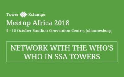 ClickOnSite at TowerXchange Africa Meetup in Johannesburg, 9-10 Oct 2018