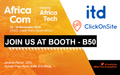 AfricaCom 2019: Meet ITD at the French Tech Pavilion – Business France (booth B50)