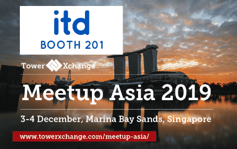 TowerXchange Meetup Asia 2019: ITD invites you at stand 201