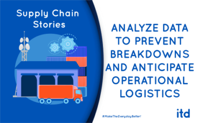 Analyze data to prevent breakdowns and anticipate operational logistics