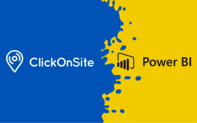 ClickOnSite connects to Power BI to complement its reporting capabilities